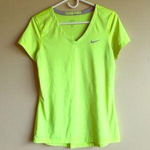 Neon Green Nike Pro Active Wear